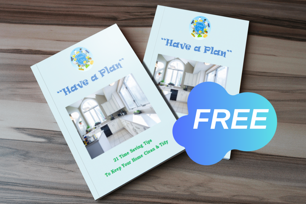 Free 'Have a Plan' eBook - Cleaning Tips