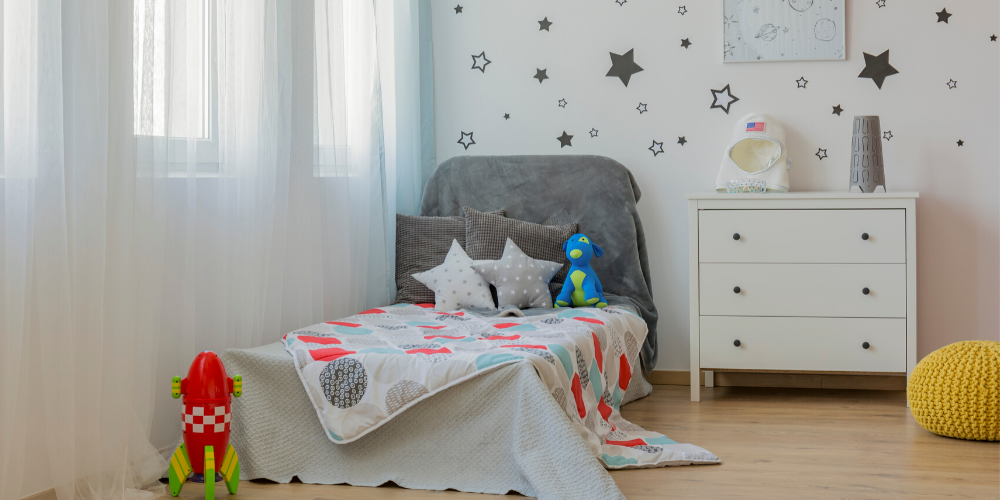 How to get a clean kids bedroom... without having to do it yourself!